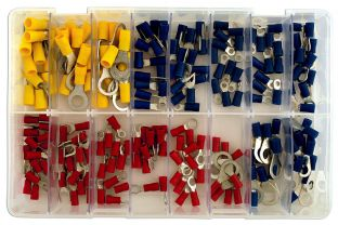 Connect 31854 Assorted Rings & Fork Terminals Box Qty 200
